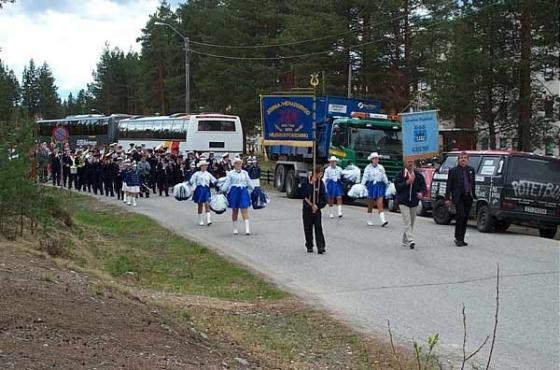 Gruvöns musikkår i Elverum 2003