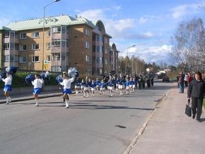 Gruvöns musikkår och Grumsdrillen våren 2005