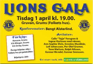 Lions gala