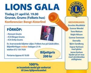 Lions gala 2015