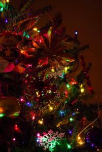 christmas tree lights and decorations - stephenvance