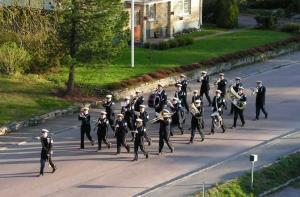 Gruvöns musikkår 1:a maj 2007