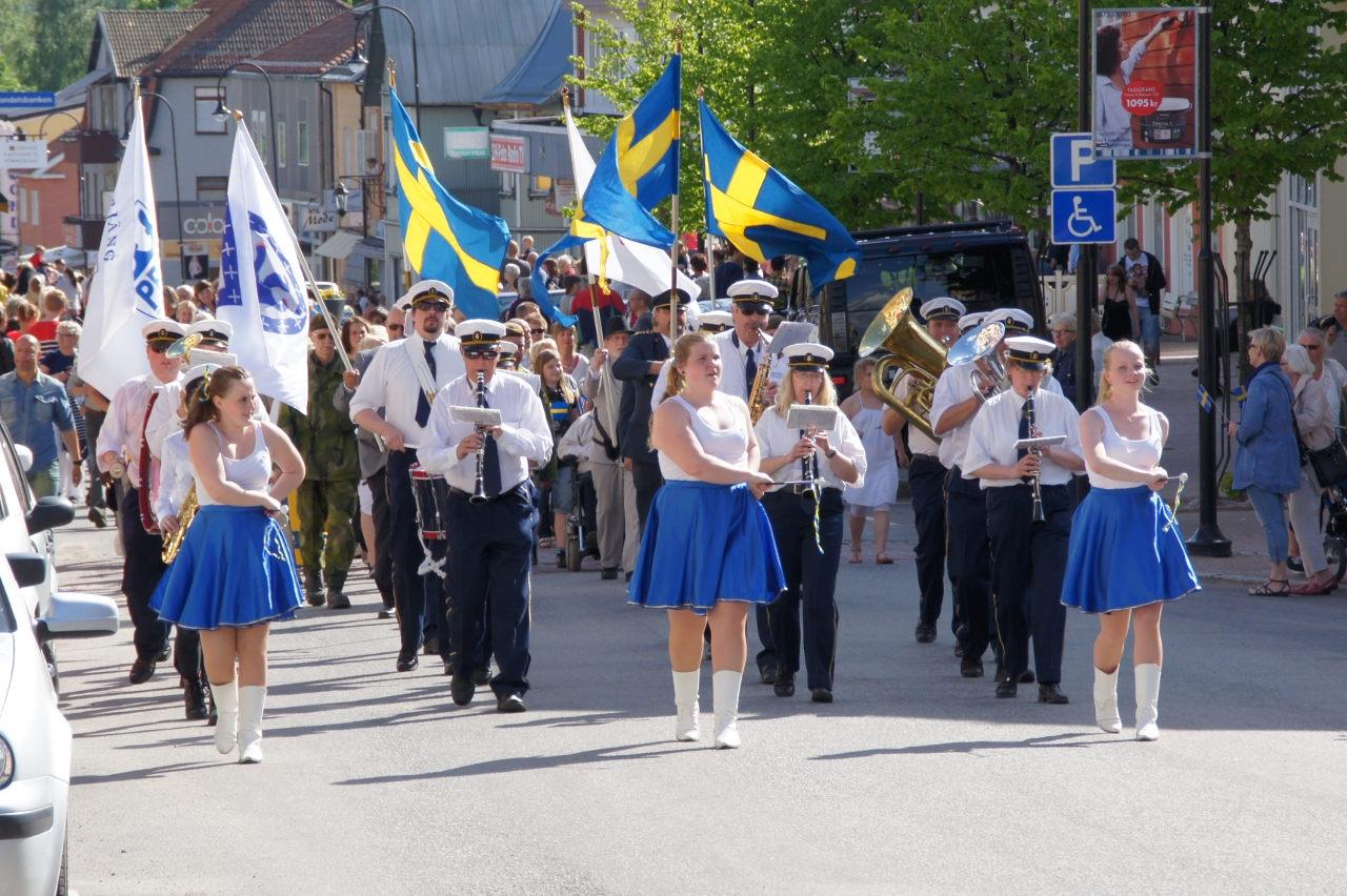 Nationaldagsfirande i Årjäng